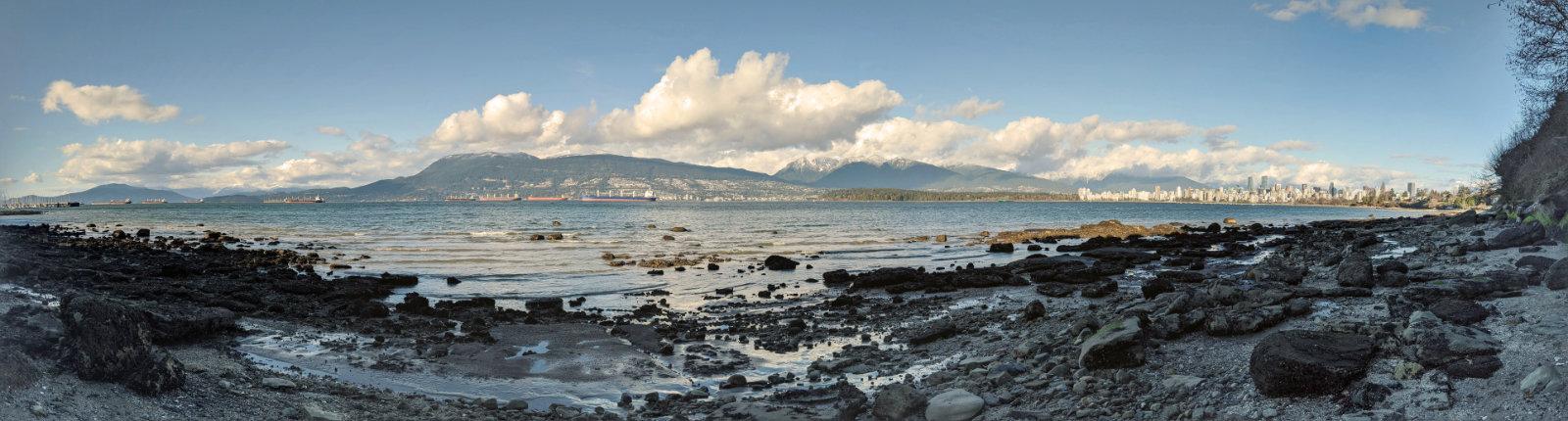 Rocky Beach panorama