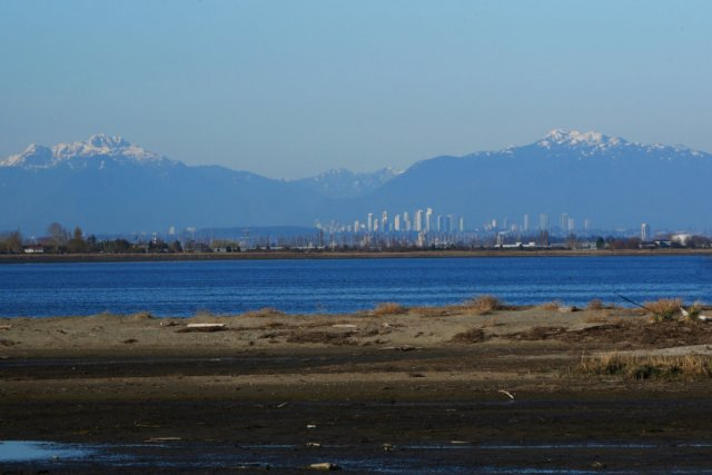 Burnaby Views from Boundary Bay