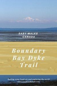 Boundary Bay Dyke Trail - walks near Vancouver