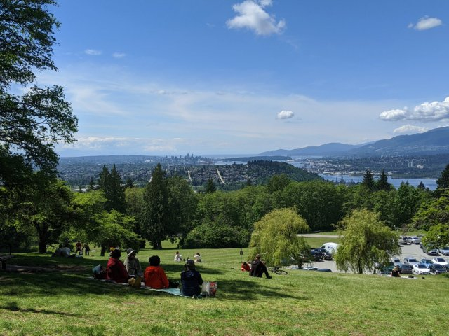 Gorgeous views on Burnaby Mountains