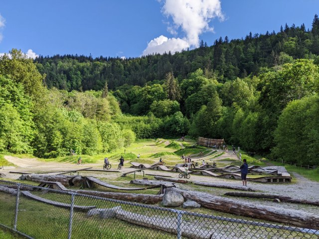 Burnaby Mountain Bike Skills Facility