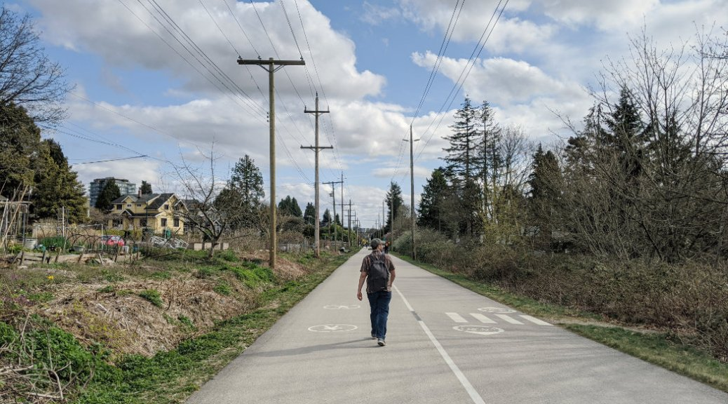 65th Marc on the Arbutus Greenway