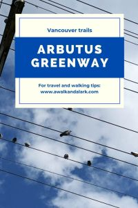 Arbutus Greenway - Great path to cycle in Vancouver, Canada