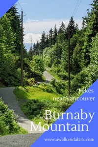 Burnaby Mountain - Fun area to explore near Vancouver, Canada