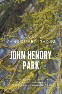 John Hendry Park - Vancouver's community parks Canada