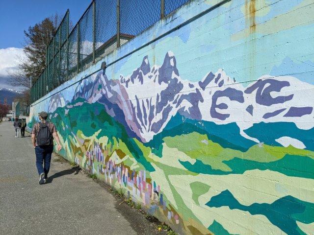 The Lions as street art