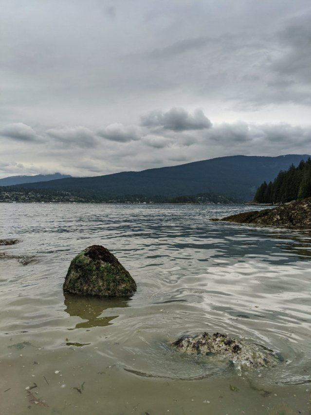 Admiralty Point looking over to Deep Cove