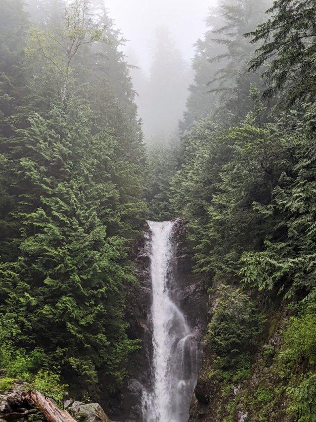 Norvan Falls - first views