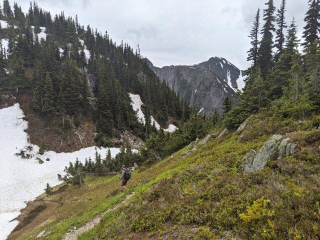 Thar Peak (i think) from the Zoa Peak trail