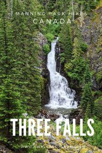 Three Falls Trail in Manning Park - Derek Falls