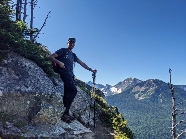 Viewpoint on the Skyline trail