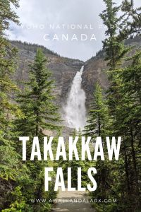 Takakkaw Falls in Yoho National Park - Fabulous waterfall in the Rockies