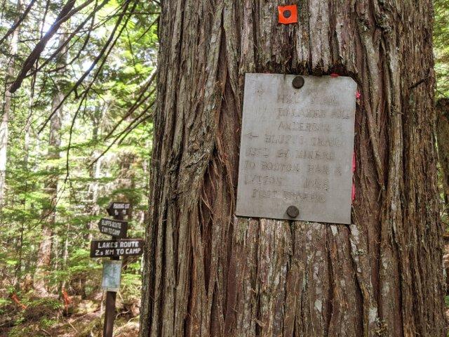 Tikwalus Herritage trail signs