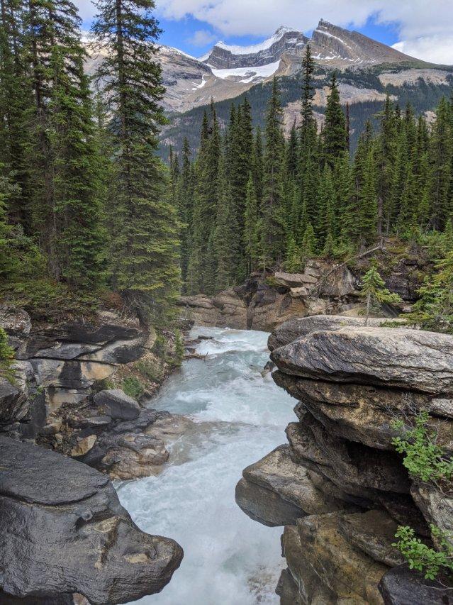 Twin Falls Creek from the bridge