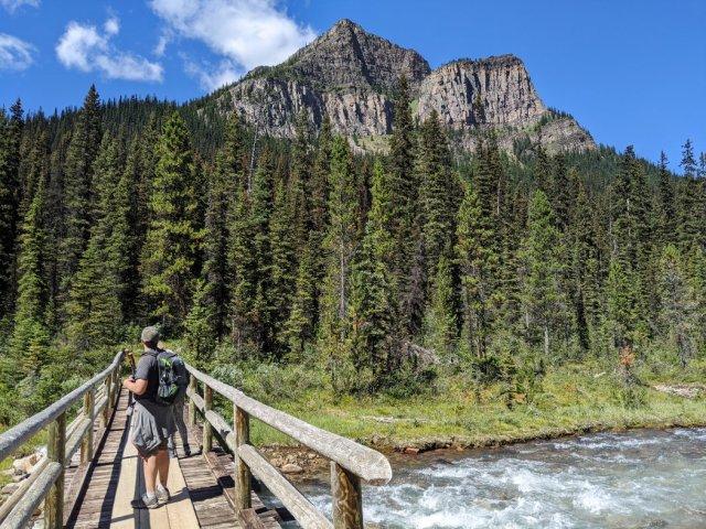Saddleback Mountain above Paradise Creek