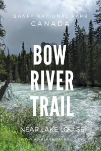 Bow River Loop - Easy hike near Lake Louise