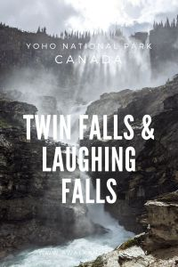 Twin Falls & Laughing Falls in Yoho National Park
