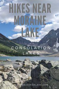 Consolation Lakes - Easy Hike near Moraine Lake - Banff, Canada
