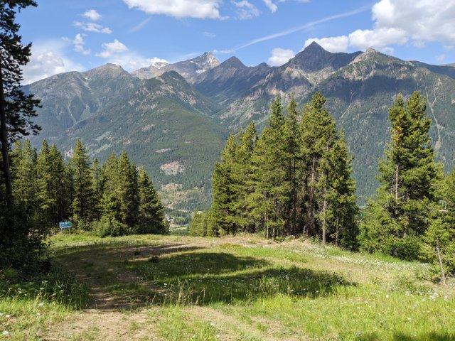 Gorgeous views from Panorama Mountain