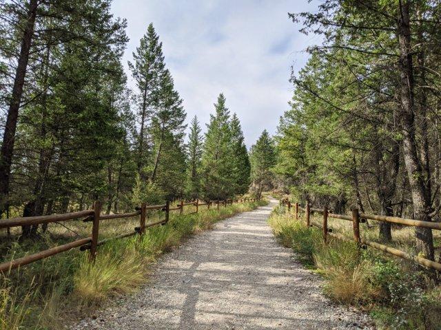 Start of the Hoodoos trail