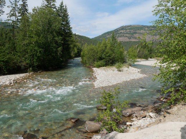 Dutch creek behind the Hoodoos
