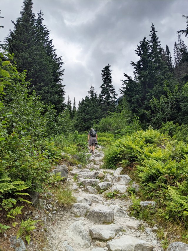 Views of the Great Glacier Trail