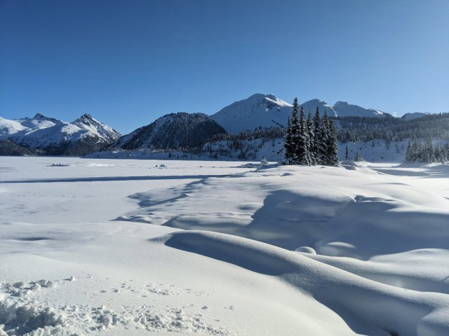 Mount Price from Garibaldi Lake