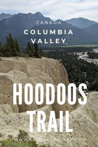Hoodoos Trail - interesting easy walk near Fairmont Hot Springs