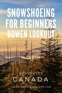 Snowshoeing for beginners - Bowen L