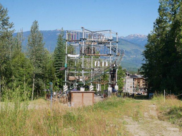 Aerial Adventure Park Revelstoke Mountain Resort