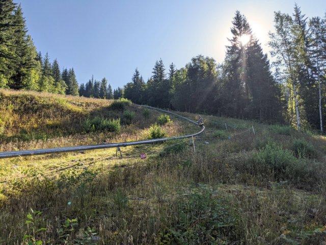Pipe Coaster on Revelstoke Mountain resort