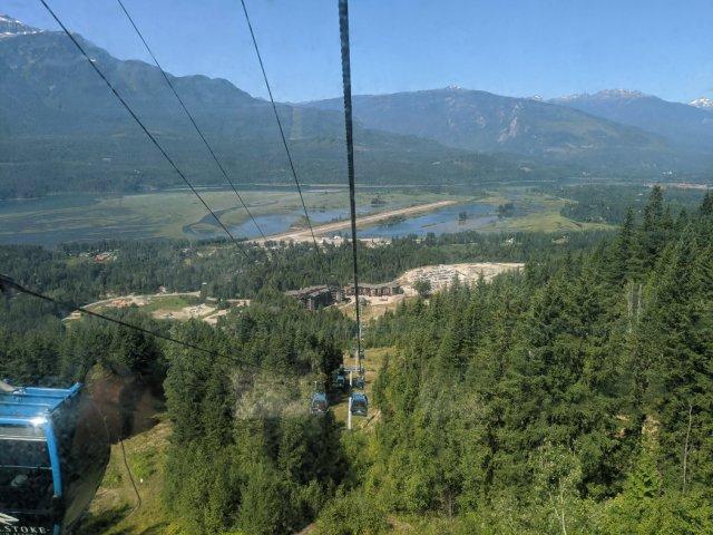 Heading down Revelstoke Mountain resort