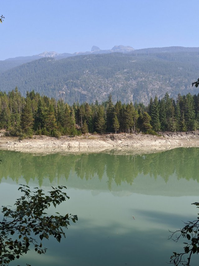 Shadow Lake Reservoir and Black tusk