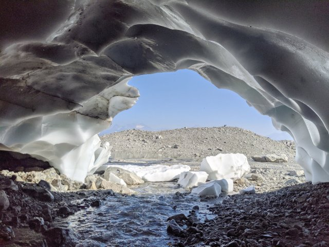 View from the Ice Cave