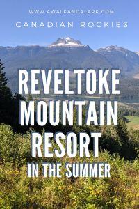 Revelstoke Mountain Resort - Hike up to the Pipe Coaster, Canada