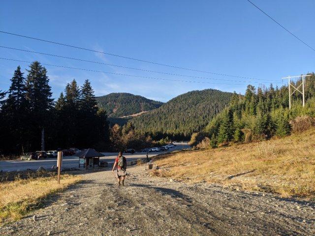 Hollyburn Peak and Mount Strachan