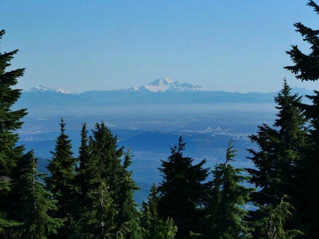 Mount Baker from Hollyburn Peak