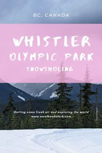 Whistler Olympic Park snowshoeing - Fantastic winter fun near Whistler
