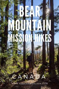 Bear Mountain - Great for hiking and mountain biking near Mission