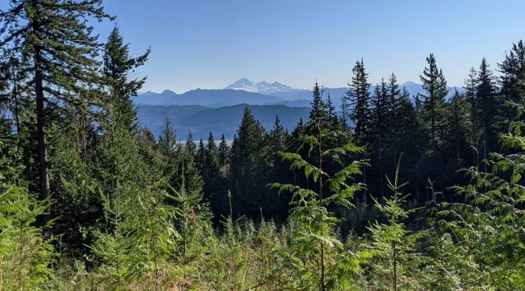 Views near the top of Bear Mountain - Mount Baker