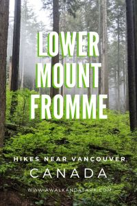Lower Mount Fromme - a fun, easy hike in North Vancouver
