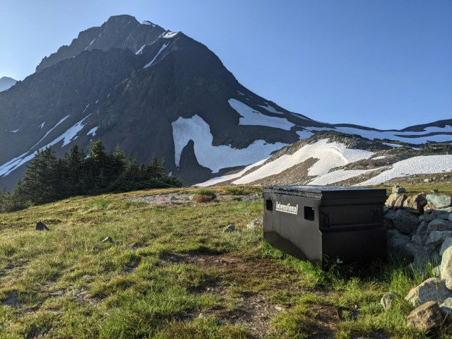 Bear cache & Fissile Peak