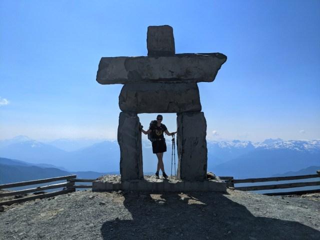 Inukshuk on Whistler Peak