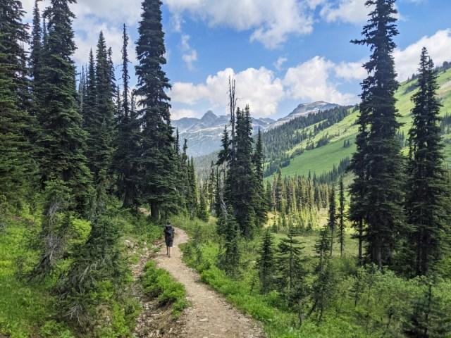 Singing Pass trail