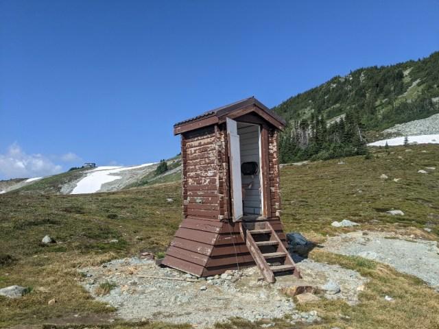 The Russet Lake loo