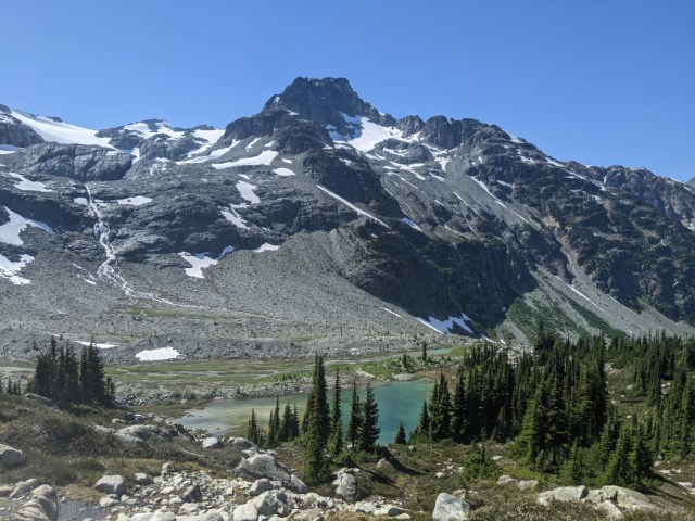 Face Mountain and Semaphore Lakes