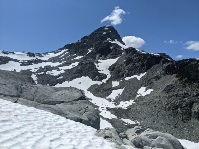 One more view up to Locamotive Peak