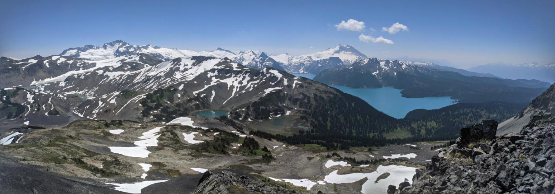 Panorama Ridge from Black Tusk