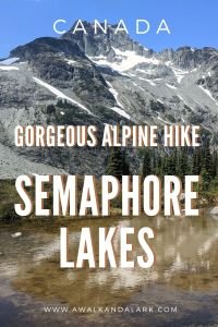 Semaphore Lakes - Easy hike with incredible views