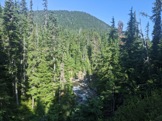 Trail up to Helm Creek